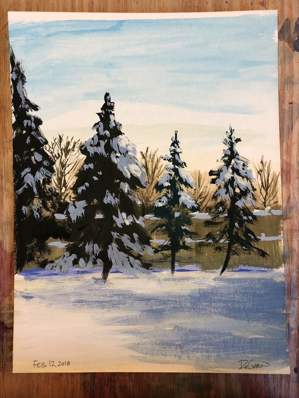 Winter Plein Air 02-12-18