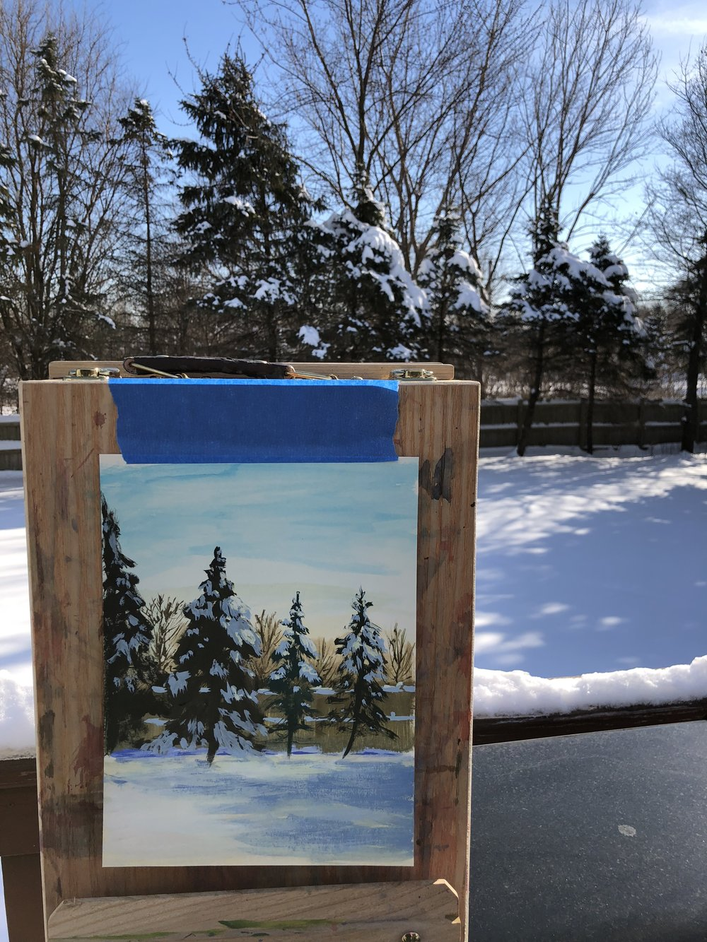 Winter Plein Air