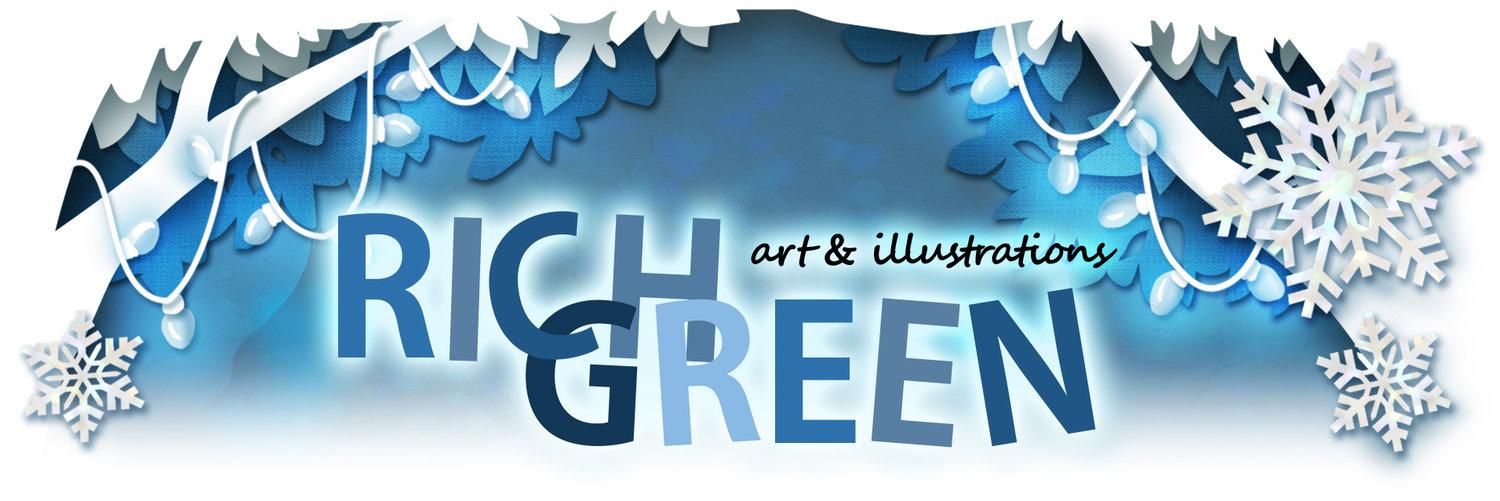 Rich Green Art & Illustrations