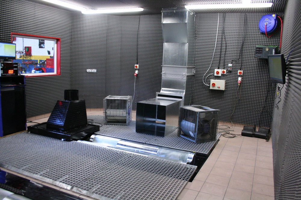 Cell design - Here is an example of a cell, where we provided the complete dyno, cooling and ventilation, as well as the original concept and design, and we worked closely with our clients own local contractors.