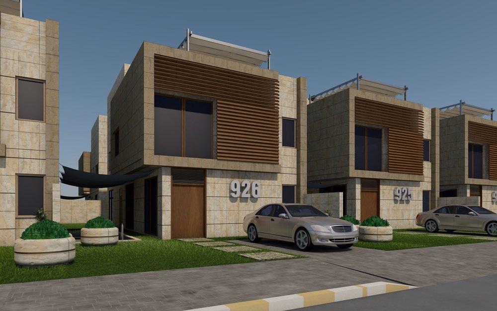 AlRabwa Modern Villas Project