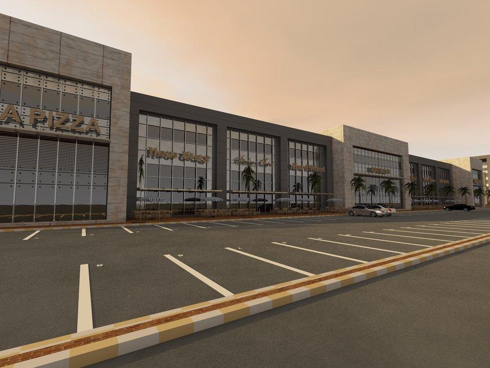 AlSalam Strip Mall