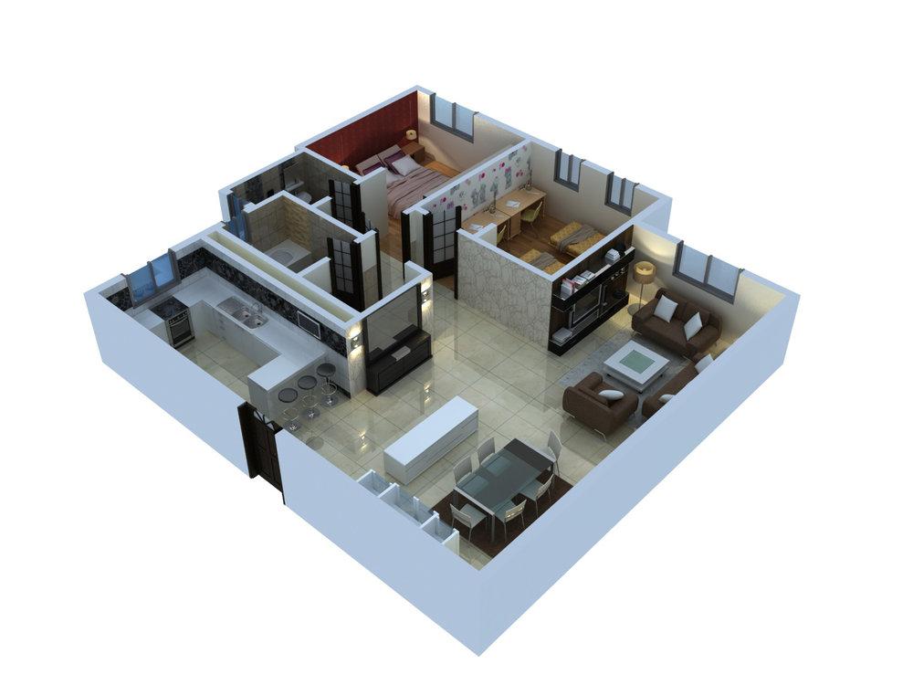 Type  B - 2 Bedroom.jpg