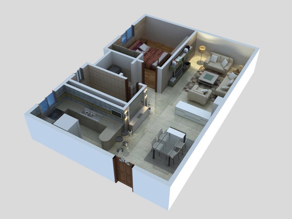 Type  A - 1 Bedroom.jpg