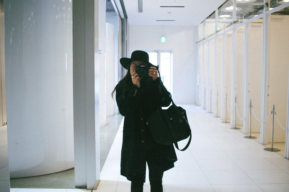 self-portrait. Tokyo 2018.