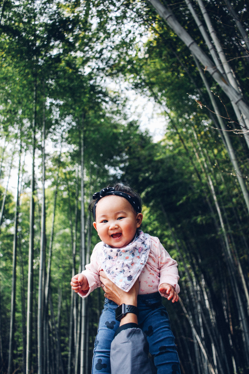 3. ARASHIYAMA TAYAH Tayas was just 8 months old when she traveled all the way to Japan with the fam. She was in her chubby baby faze and we all loved it. When we went to Arashiyama, she happily sat in the stroller or ergo, bouncing along with the rest of us to enjoy the views.