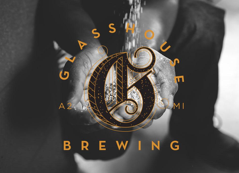 Glasshouse Brewing of Ann Arbor Branding