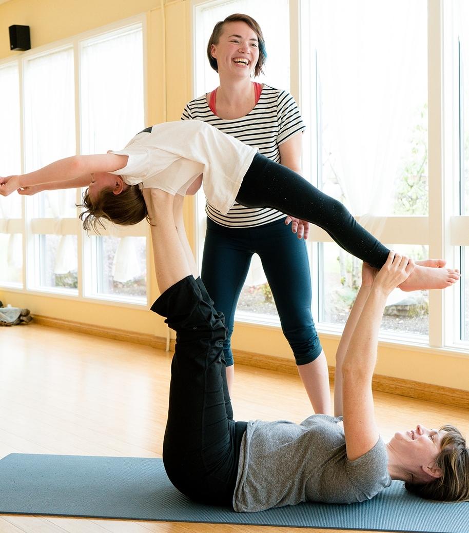 family yoga series salem or