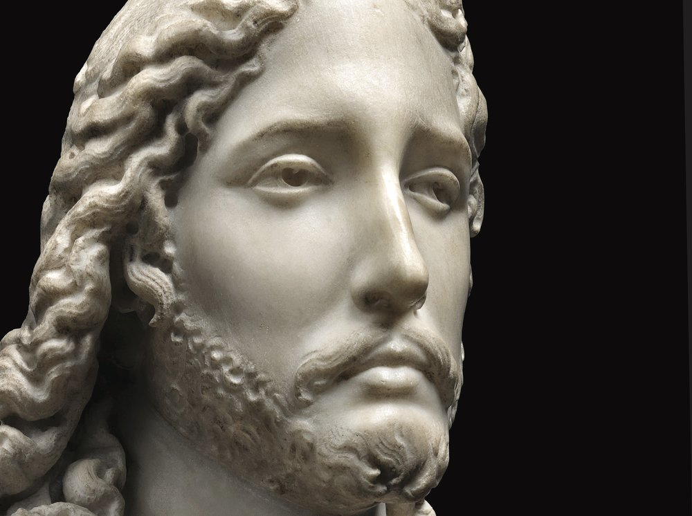 Gian Lorenzo and Pietro Bernini, Bust of the Savior,  c. 1615-16