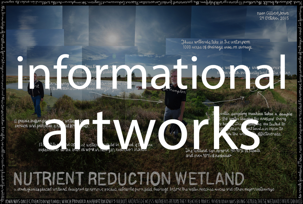 Click the image above  to view the informational artworks of The Bluestem Institute's Water Project.