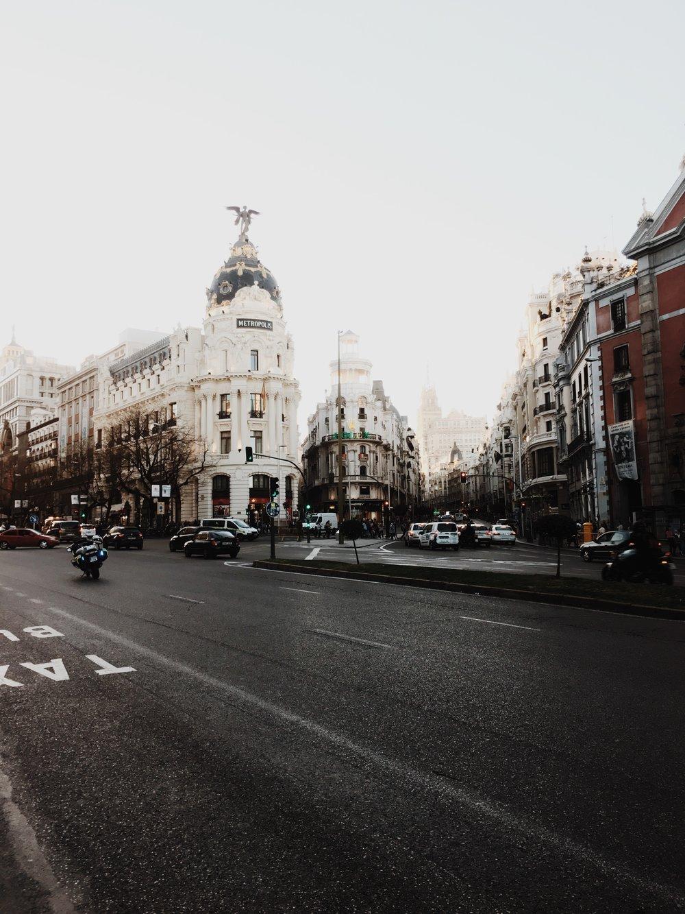 SPRING BREAK'N IN MADRID