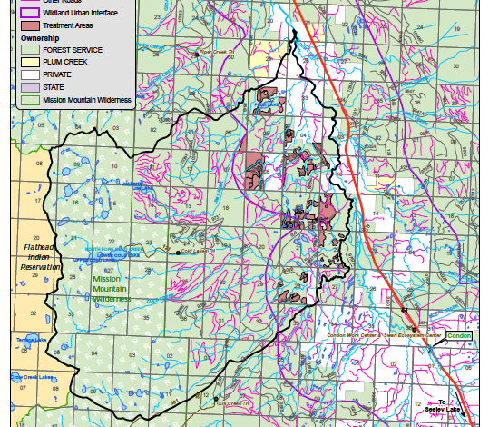 Swan Valley Montana Map.Usfws Bull Trout Opinion Halts Swan Valley Logging Project Montana
