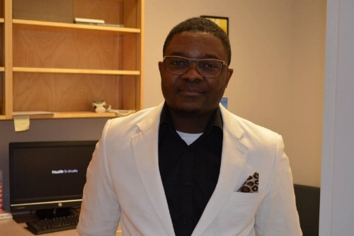 Dr. Abayomi Adetola is the most recent doctor to join the Ashcroft Family Medical Clinic.    Photo: Barbara Roden