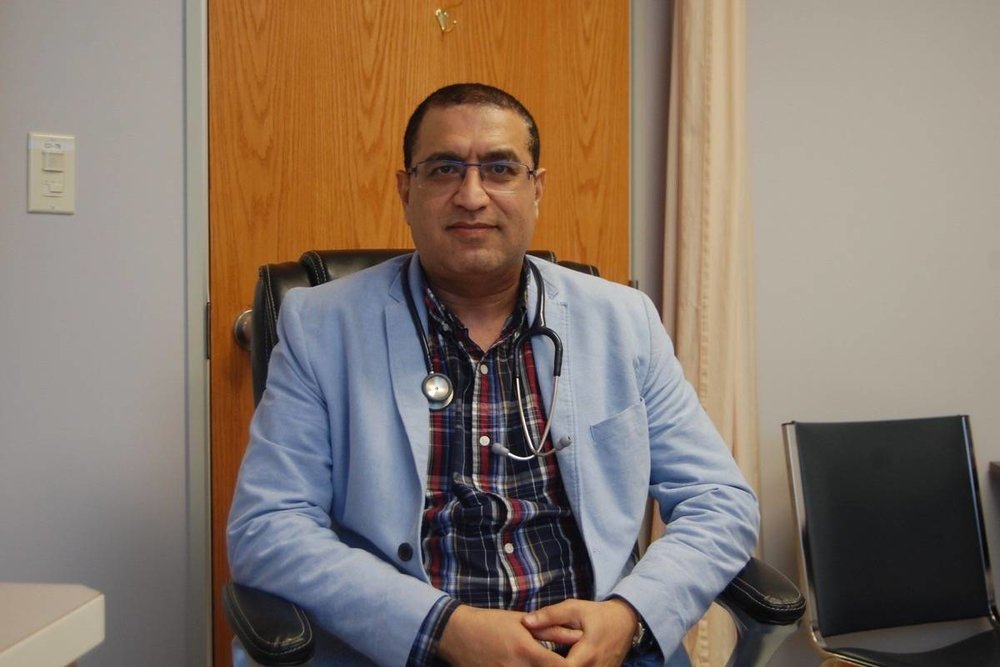 Local Doctor Says He Has No Plans To Leave Community - May 22, 2018 - Dr. Amgad Zake says he's settled in after more than two years at the Ashcroft clinic.(The Ashcroft-Cache Creek Journal)