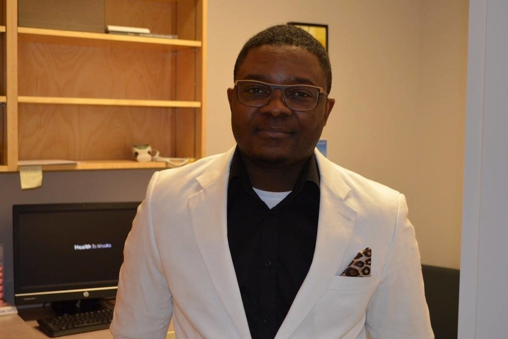 Dr. Abayomi Adetola Aims to Treat the Whole Patient and Build Relationships - February 28, 2018 - New Doctor in Ashcroft Clinic wants to make the town his long-term home (Ashcroft Cache Creek Journal)