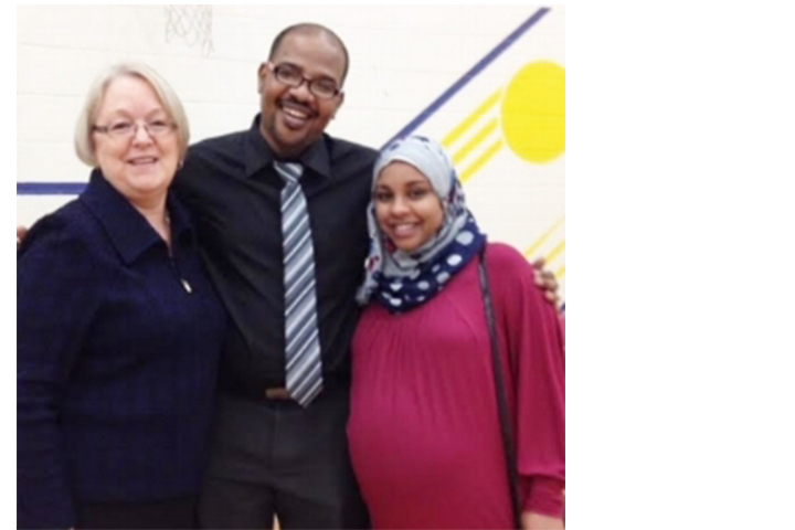 Dr. Saeed and His Wife Welcomed to Logan Lake - Logan Lakers packed the Elementary School gym on the afternoon of Friday, Feb. 12 to welcome Dr. Saeed and his wife Dr. Wahbi to the community. (Merritt Herald)