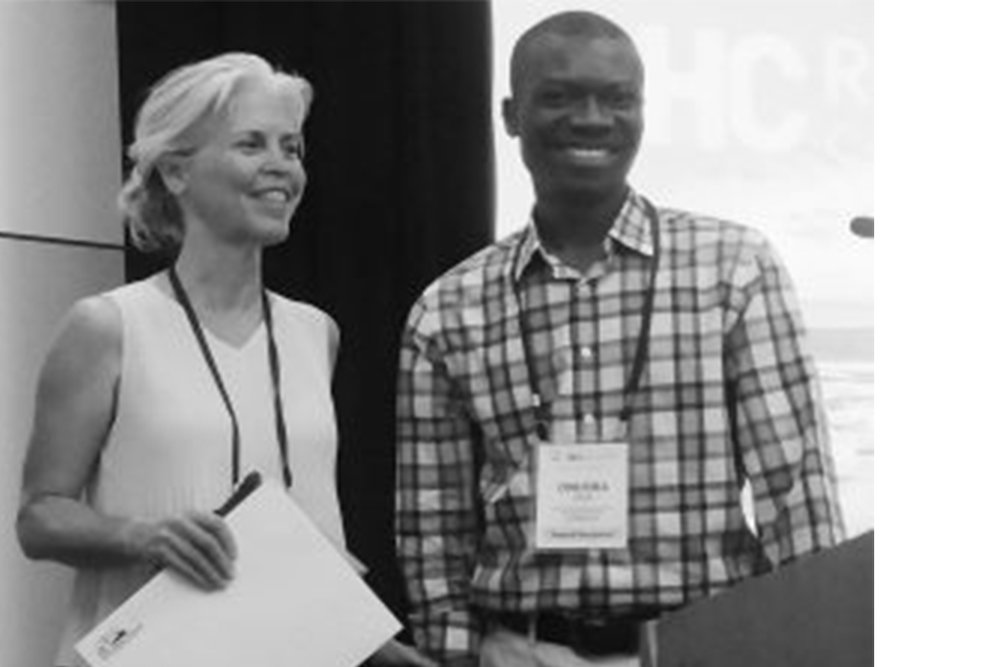 Dr. Onuora Odoh, Award-winning Member of the CHANGE BC Rural Physician Team - The Rural Coordination Centre of BC was honoured to present the BC Rural Health Awards in all three categories on May 12 at its BC Rural Health Conference in Nanaimo, BC. (BC Rural Update)