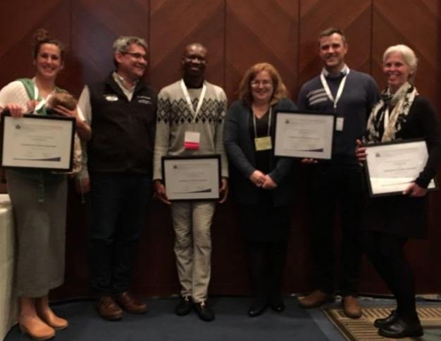 PRA-BC physician awarded  2018 Innovations in Primary Care award  - CHANGE BC, a team of five rural family physicians including Dr. Onuora Odoh, were recognized by the BC College of Family Physicians for their team-based approach to preventing chronic disease by integrating nutrition and exercise interventions into primary care networks.