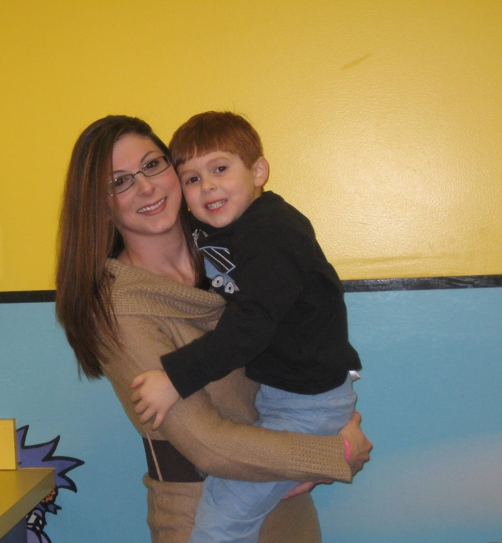 Lindsay and her son