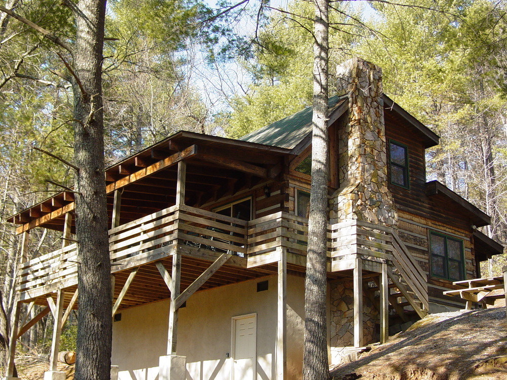 Deer Run Private Log Cabin
