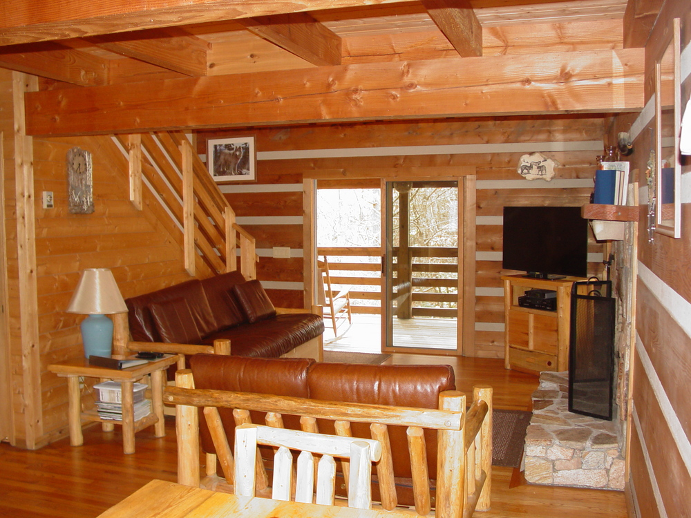 Private Log Cabin Vacation Rentals Hot Tubs Boone