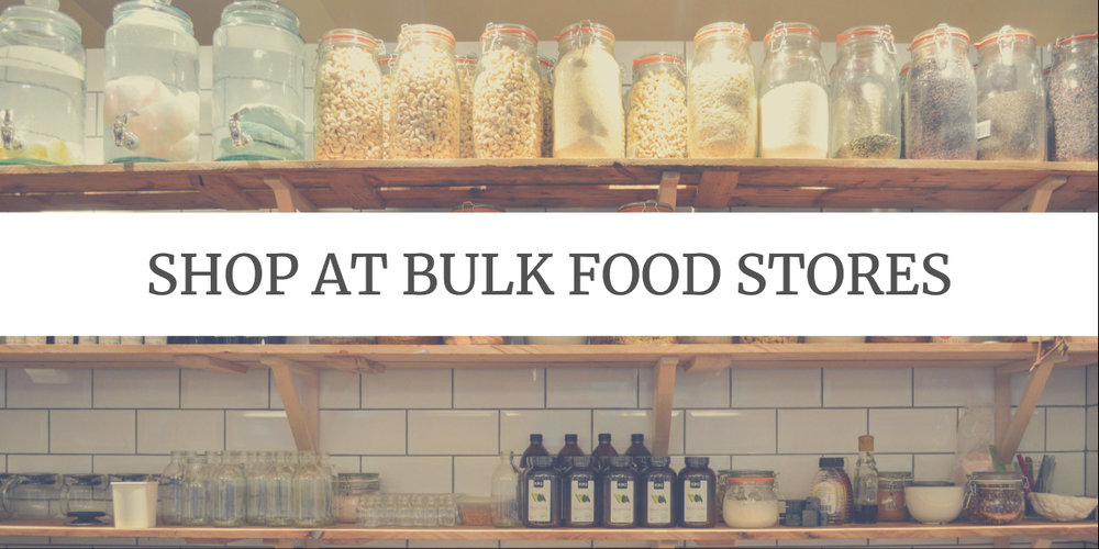 Eco-friendly Grocery Shopping Tips: shop at bulk food stores