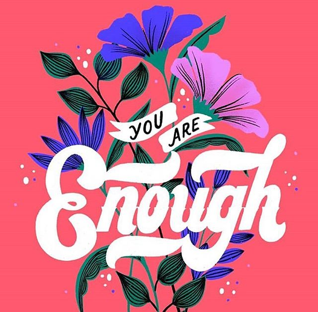 You 🌟 Are 🌟 Enough! You are defined by so much more than how much you accomplish or what others think of you. You are so strong and you are so worthy ❤️ Pc: @cmbringle • • • • • • • • #youareenough #youareworthy #youareloved #believeinyourself #nationalletterwritingmonth #makeadifference #nonprofitorganization #girlpower #art_spotlight #positivevibes #womenempowerment #grlpwr #helpothers #sendjoy #selflove #selflovequote #selfcarelove