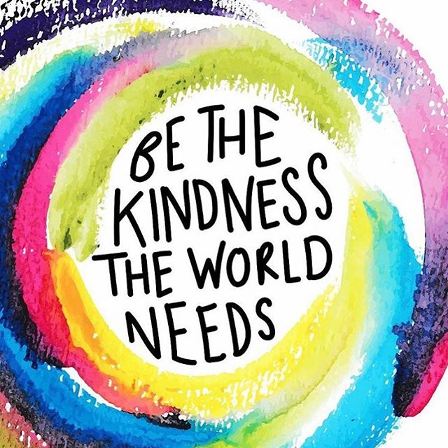 Kindness helps the world go round 💫💖 Pc: @katie_illustrated • • • • • • • #youareenough #youarebeautiful #selflove #selflovequotes #spreadlove #positivequotes #postivitevibes #selfcare #loveyourself #youareperfect #empoweringwomen #art_spotlight #doodlesketch #watercolor #letteringchallenge #letteringpractice #calligraphy #paperart #letterwriting #snailmail #happymailideas #happymail #girlpower #girlgang #girlboss #nonprofit #smilemore #quotestoliveby #quoteoftheday