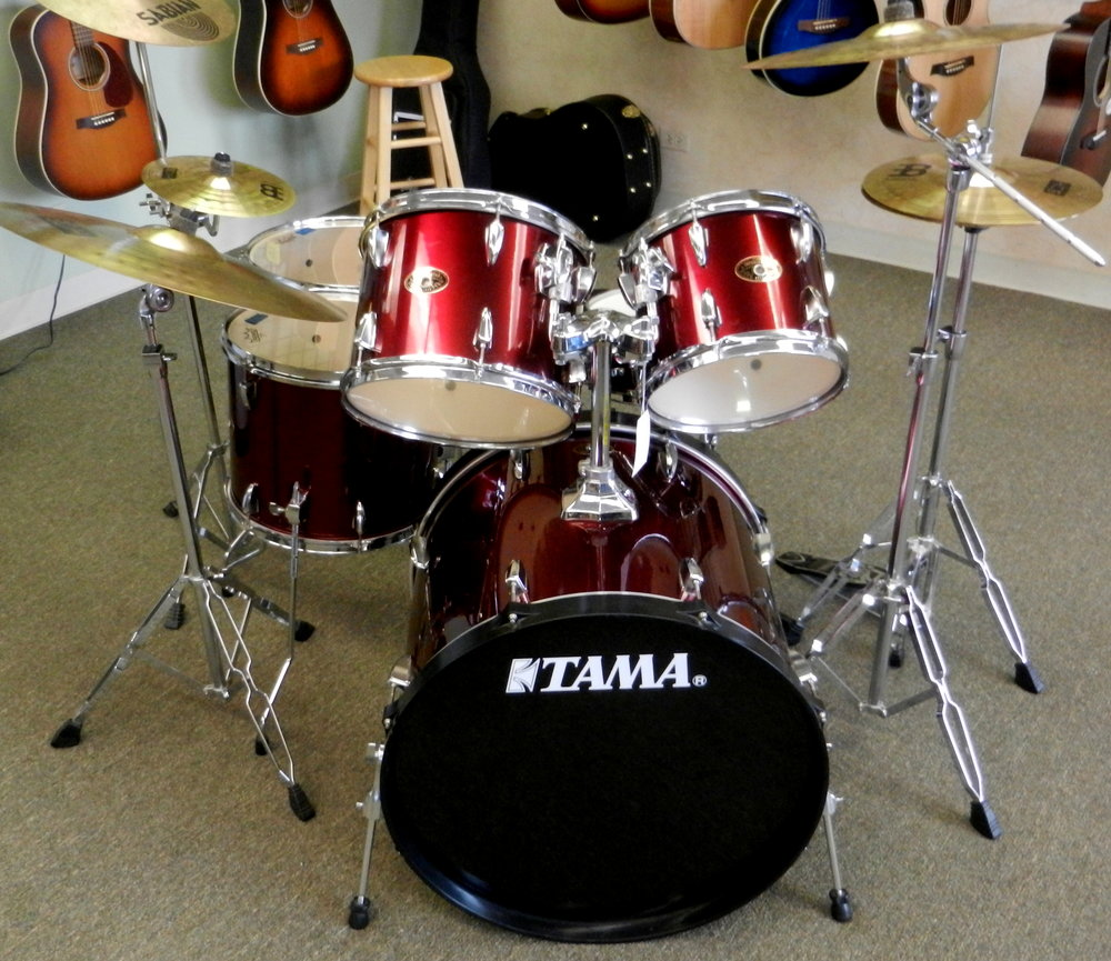 Used Tama Imperialstar Drum Set (2).JPG