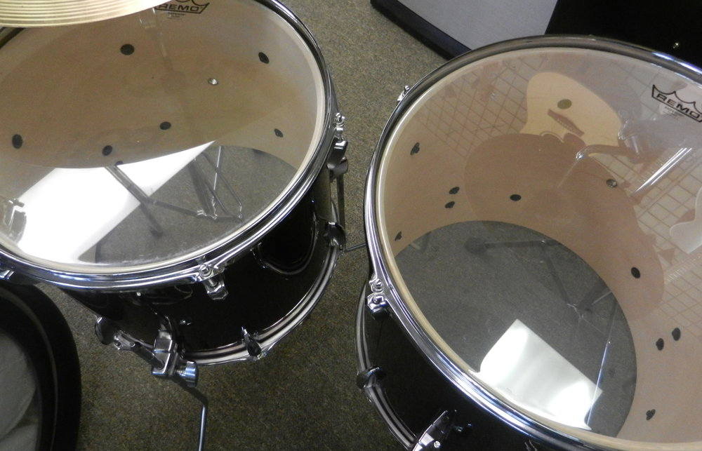 Used Tama Imperialstar Drum Set Floor Toms.JPG