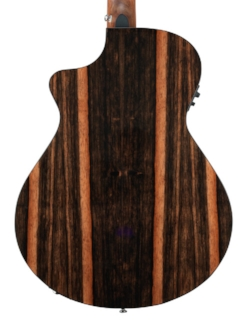 Back of Pursuit Exotic Series Concert Ebony