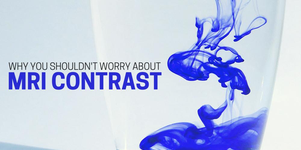 MRI contrasts