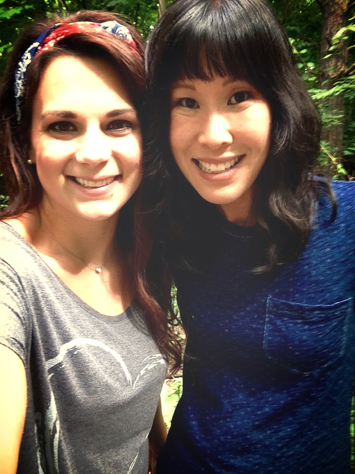 Laura Ling and Kelley Lewis