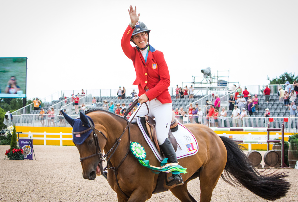 Lauren Hough, double bronze at the 2015 Pan American Games