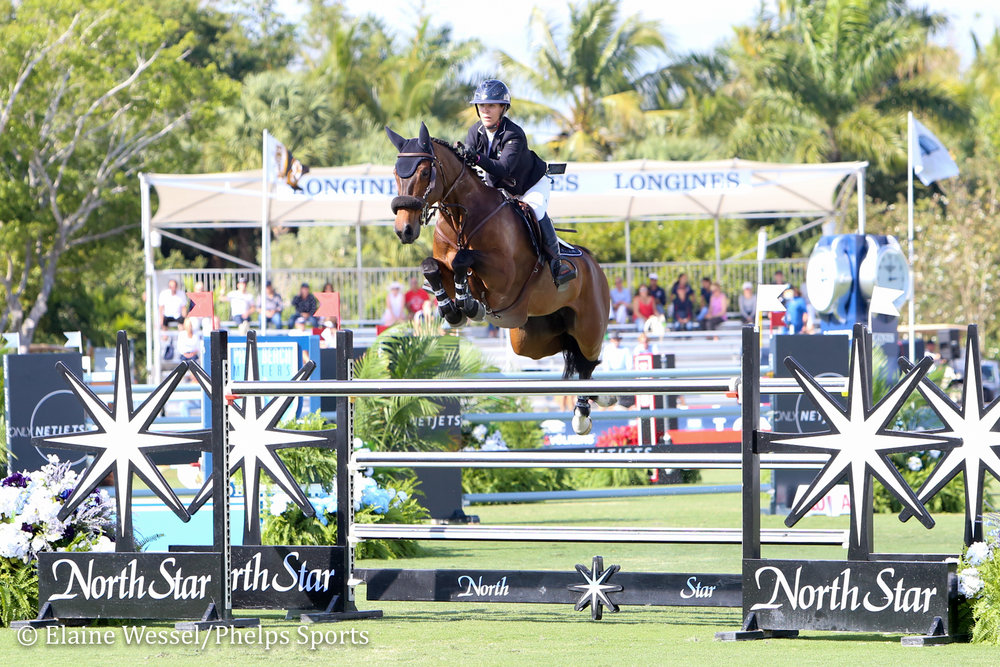 Paloma and Lauren Hough at 2019 Palm Beach Masters CSIO5*