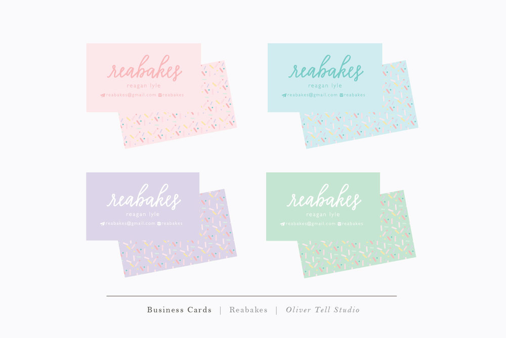 Reabakes Business Cards