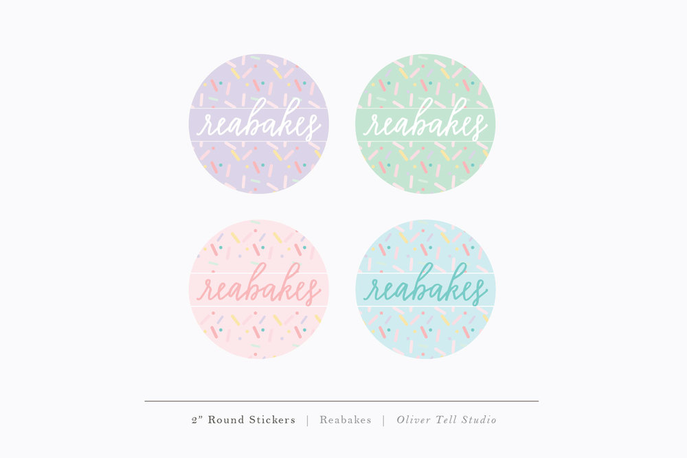 Reabakes Stickers