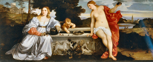 Amor Sacre Amor Profano, Titian