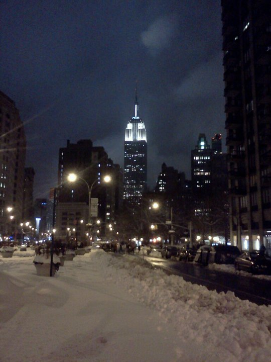 Empire State Building, January 2011