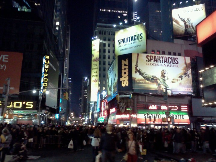Times Square, December 31, 2010
