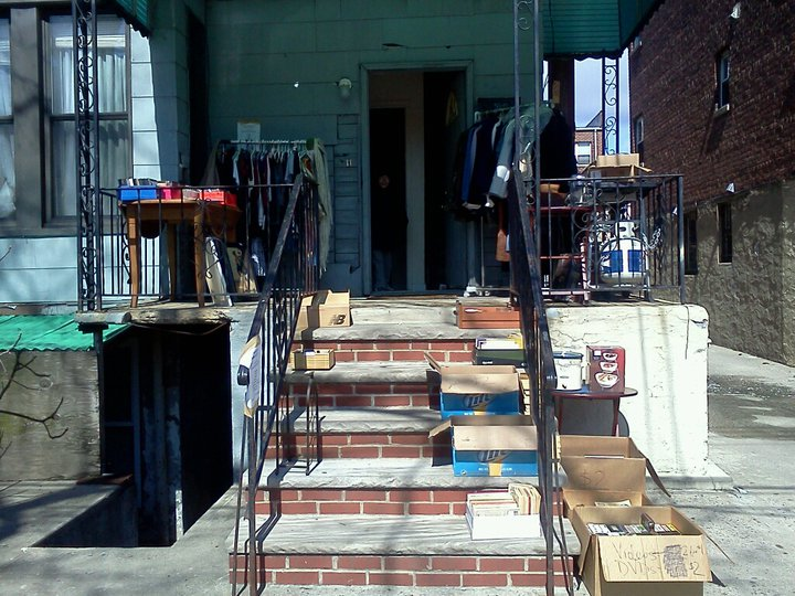 My Astoria Stoop Sale, April 2011