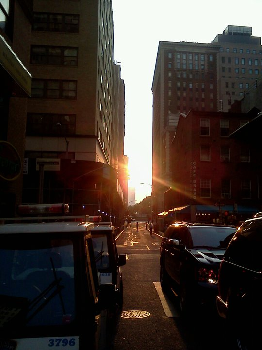 Manhattanhenge, June 2011