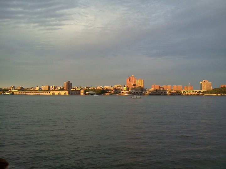 The view of Harlem from New Jersey, July 4, 2011