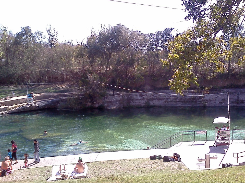 Barton Springs, Austin, TX, November 2011