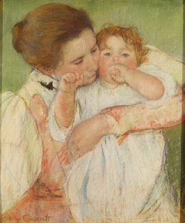 Mother and Child,  Mary Cassatt, 1897