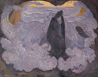 La Vague Violette, Georges Lacombe