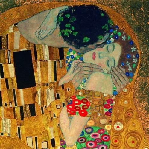 The Kiss,Gustav Klimt