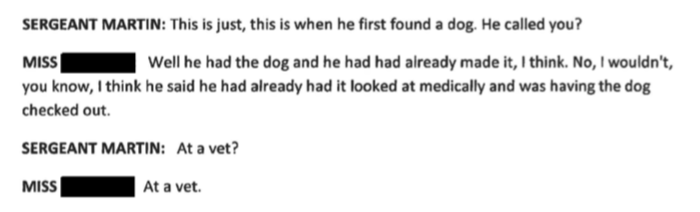 Despite Maciel claming dog belonged to Forever Paws he already took initiative with dog before contacting shelter.