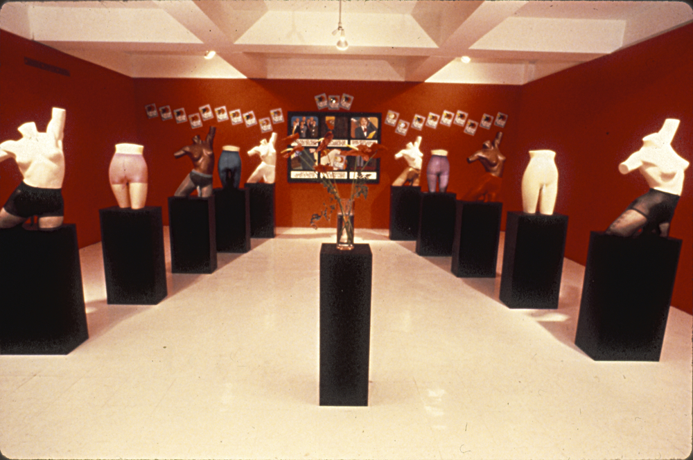 Secret Penis Installation, 1987