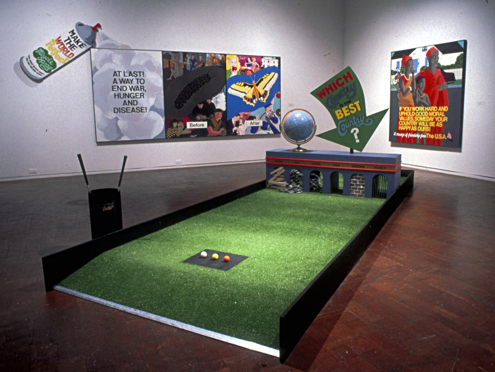 Best Country Miniature Golf, OC Museum of Art, 1989